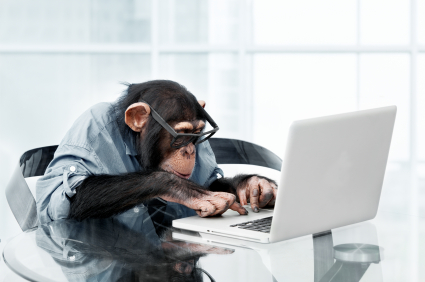 BE RESILIENT: Play the Ball Where the Monkey Drops It 1